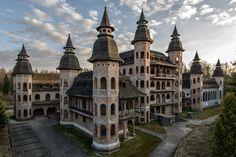 Castle in Lapalicach, Pomorskie province, Poland.