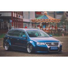 Blue Passat r36 b6