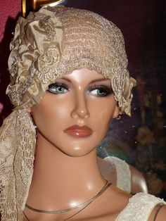 Flapper Hat Cloche 1920 style Personalized  by LudasHatBoutique, $69.99
