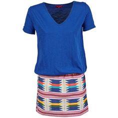 Imposible no enamorarse de este #vestido corto de la marca Derhy. ¡Perfecto para esta temporada de verano, estarás encantadora con él! #ropamujer