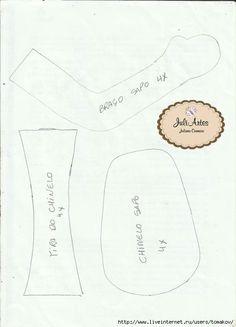 Eu Amo Artesanato: Porta papel higiênico de boneca com molde
