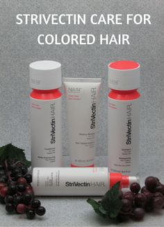I have been coloring my hair since my twenties. I went through various shades of brown before settling for auburn hair. I love the color of my hair, but not the fact that red hair fades very fast. I am sure those of you with blonde hair can empathize. But finally I have come across a hair care line that is helping my color not fade as fast and it is by Strivectin...