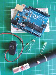 How to build a laser trip wire alarm with Arduino
