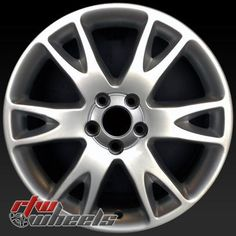 "Volvo XC90 wheels for sale 2003-2009. 18"" Hypersilver rims 70262 - http://www.rtwwheels.com/store/shop/18-volvo-xc90-wheels-for-sale-hypersilver-70262/"