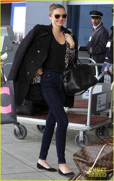 Miranda Kerr: JFK Arrival!