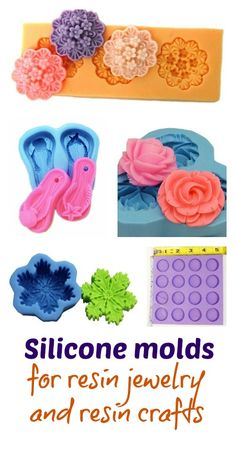 Resin Obsession:  silicone molds for resin