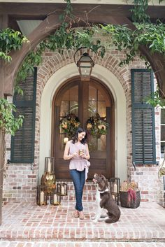 @lavinlabel Blog. October 2015. Fall Front Door Inspiration with Pottery Barn. Sea Island, Georgia. Colonial House of Flowers with The Vine Garden Market, Kelly Boyd Photography Cameron Hughes Wine 100 Candles