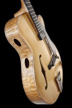 "Robert Carbonero. Custom Made 16"" Archtop Guitar"