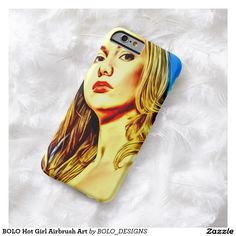 BOLO Hot Girl Airbrush Art Barely There iPhone 6 Case