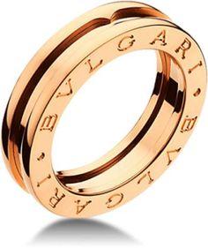 d2822045ad1 Bulgari Bvlgari B. Zero 1 18K Rose Gold 1 Band Ring Jewelery