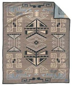 Native American Patterned Wool Blankets from Pendleton