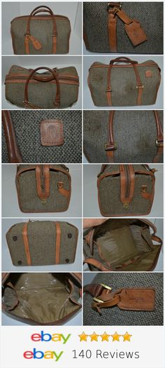 VINTAGE HARTMANN CASE TRAVEL TWEED LEATHER TRIM CARRY ON http://stores.ebay.com/shopabbygirl?_rdc=1