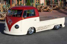 volkswagen kombi truck flat bed