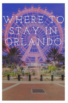 Where to stay in Orlando - My Top Picks on International Drive, Kissimmee and Lake Buena Vista Usa Places To Visit, Places To Travel, Travel Pics, Travel Pictures, Orlando Travel, Travel Expert, Best Travel Deals, Amazing Street Art, How To Find Out