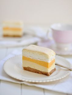 """Filipino dessert called Brazo de Mercedes, which literally translates to """"The arm of a lady named Mercedes"""""""