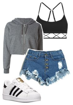 Untitled #98 by georgiarosx on Polyvore featuring polyvore fashion style Golden Goose Lorna Jane adidas clothing