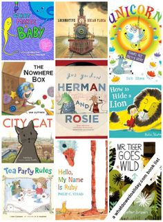 Our FAVORITE picture books of the year! Click to see all 11 choices.