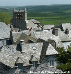 Village de France, Saint Urcize, Monts d'Aubrac, Cantal