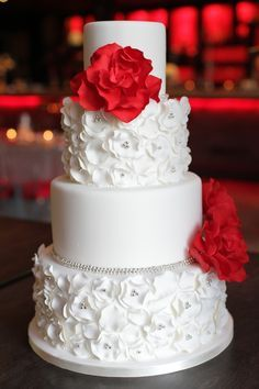 Red, white and silver - My wedding ideas