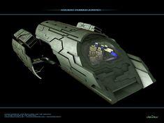 Stargate Atlantis - puddle jumper