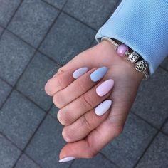 May 2020 - nails short almond ~ nails short & nails short acrylic & nails short gel & nails short coffin & nails short simple & nails short square & nails short almond & nails short spring Summer Acrylic Nails, Cute Acrylic Nails, Acrylic Nail Designs, Matte Nails, Fun Nails, Gradient Nails, Nail Summer, Spring Nails, Nice Nails