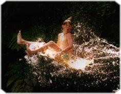 Waimarino adventure park kayak slide