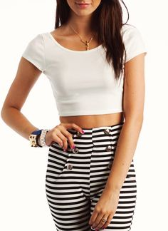 cropped scoop back top