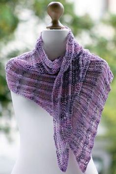 Primavera Wrap | Seeking: the perfect knit shawl pattern for spring or summer. Found!