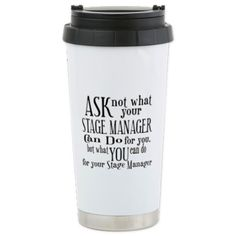 present for Stage manager or asst director - Eli (Tech Theatre Projects) Simple Gifts, Easy Gifts, Creative Gifts, Cool Gifts, Broadway Theatre, Musical Theatre, Techie Gifts, Peter Pan Jr, Stage Management
