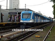 CRÓNICA FERROVIARIA: Línea Sarmiento: Momentáneamente se encuentra sin ...