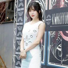 Hyun Young, Angels, Rainbow, Shirt Dress, Yellow, Instagram Posts, Shirts, Dresses, Fashion