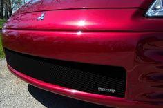 MIT3309B Mitsubishi Eclipse Black MX Grille Lwr 5pc Insert Grillcraft  #Grillcraft #ChromeTrim