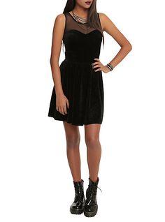 Black Velvet Dress | Hot Topic