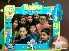 Spongebob Squarepants Frame / Photo Booth / Photo Prop Digital File