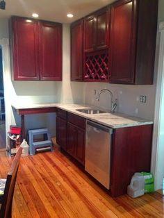 Kitchen Counter Update - Kitchen Remodel
