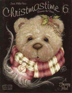Jamie Mills Price Christmas Decorative Painting Book...cute bear.