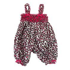 Bonnie Baby Infant Girl Leopard Mesh Romper #VonMaur #BonnieBaby #AnimalPrint