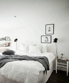 Small stylish attic apartment - via Coco Lapine Design
