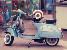 Vespa 150 Super (1966): Blu 210