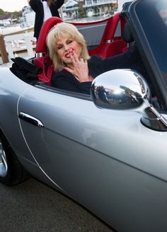 Joanna Lumley, Car, Automobile, Vehicles, Cars
