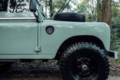 1982 Land Rover Series 3 + Camping Trailer | Men's Gear