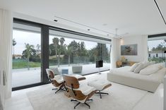 modern architecture - a-cero - sotogrande housing - cádiz - spain - interior view - bedroom