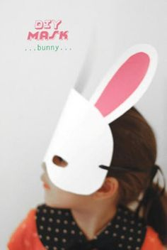 DIY Halloween DIY Costumes: DIY Cute Kid's Animal Mask For Halloween