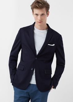 Slim-fit βελούδινο σακάκι - Σακάκια κουστουμιού for Άντρας | MANGO Man ΜΑΝΓΚΟ Μαν Ελλάδα