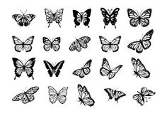 Butterfly Discover Butterflies clipart svg file dxf file butterflies svg dxf files for laser dxf files for cnc dxf laser butterfly svg laser engraving Mini Tattoos, Dainty Tattoos, Cute Small Tattoos, Pretty Tattoos, Body Art Tattoos, Sleeve Tattoos, Simple Guy Tattoos, Delicate Feminine Tattoos, Small Tattoos For Women