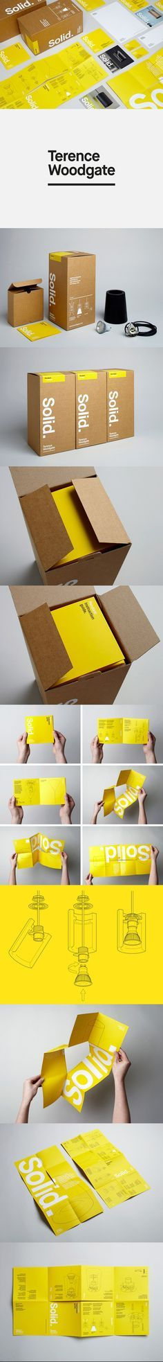Terence Woodgate packaging designed by Charlie Smith Design