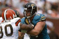 Tony Boselli, OT #71 for the Jacksonville Jaguars (1995-2001).