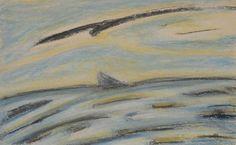 Île de Grand-Manan_L'Aigle protecteur_335_pastels Rembrand Pastels, Painting, Art, Eagle, Art Background, Painting Art, Paintings, Kunst, Drawings