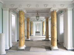 Fota House - entrance hall