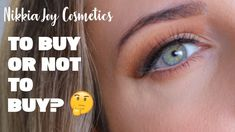 Nikkia Joy Cosmetics eye lash review. False eyelashes